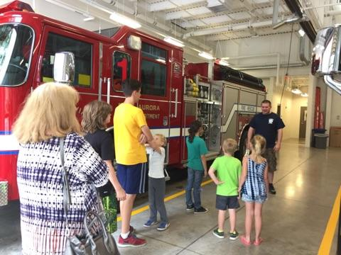 Visiting the new East Aurora Fire Department